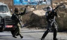 5 إصابات خلال مواجهات مع قوات الاحتلال في برقين
