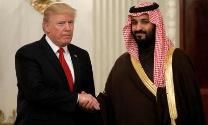 ترامب يلتقي بن سلمان ويحث على حل الأزمة الخليجية