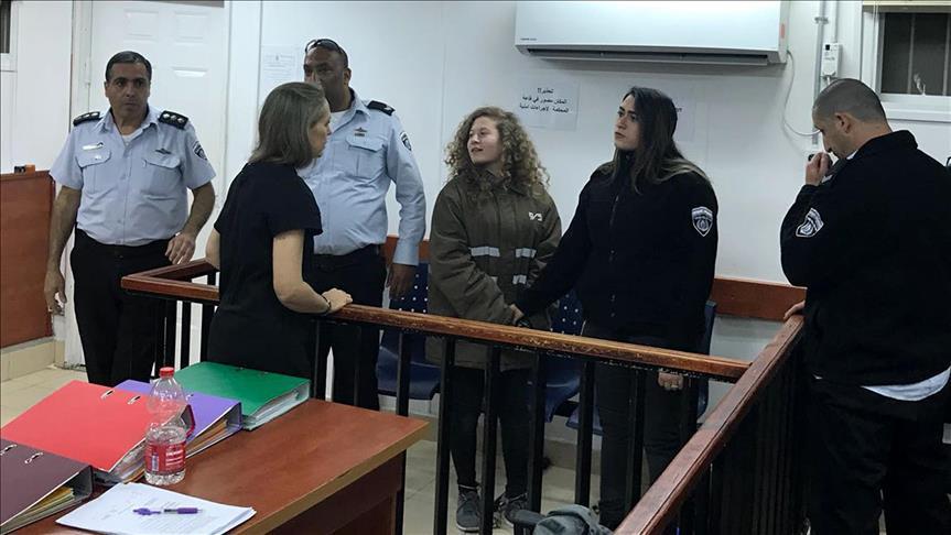 الحبس الفعلي 8 أشهر لعهد وناريمان التميمي