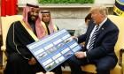 ترامب: السعودية ثرية جدا وستعطينا بعضا من ثروتها