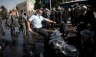 """اعتقالات وإغلاق شارع 4 في تظاهرة لـ""""الحريديم"""""""