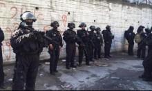 مواجهات واعتقالات بشعفاط وعناتا لليوم الثاني