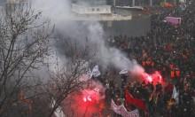 آلافُ الفرنسيّين يتظاهرون احتجاجا على  ماكرون وإضراب نحو نصف مليون