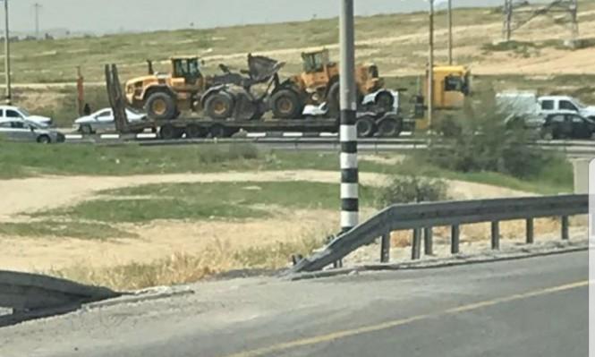 الجرافات الإسرائيلية تقتحم العراقيب لهدمها للمرة 126