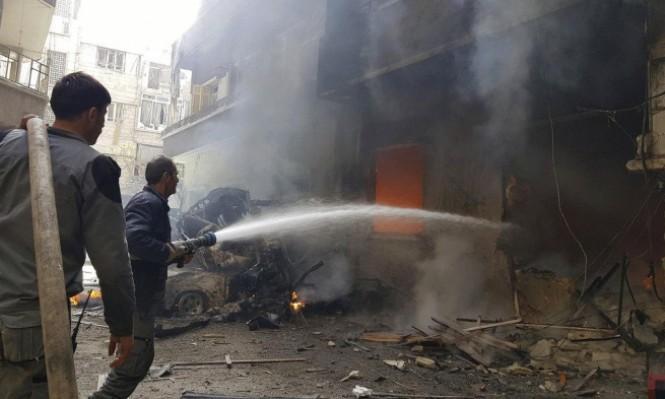 التحضيرات لتهجير حرستا تتزامن مع مواصلة قصف النظام للغوطة