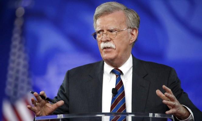 ترحيب إسرائيلي بتعيين بولتون مستشارًا للأمن القومي الأميركي
