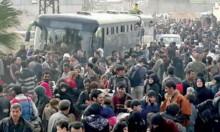 105 آلاف مدني هجروا من الغوطة  ودوما بلا حسم