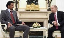 أمير قطر يزور روسيا بدعوة من بوتين