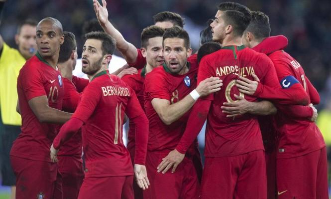 البرتغال تقلب الطاولة على مصر في دقيقتين