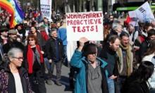 الآلاف يشاركون في مسيرة مناهِضة للعنصرية ببروكسل