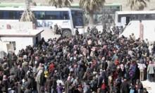استمرار نزوح مدنيي الغوطة والنظام يتجه لدوما