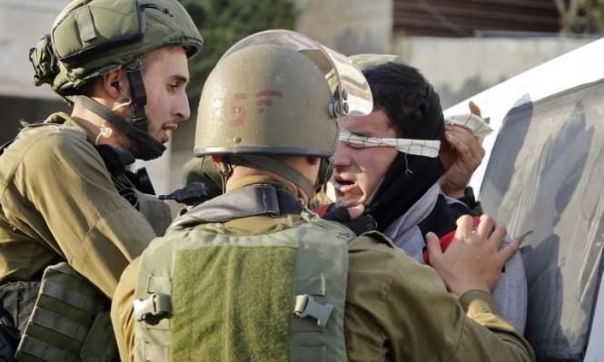 نابلس: قوات الاحتلال تحتجز 4 شبان لساعات وتعتقل أحدهم