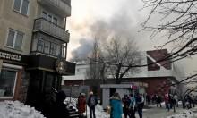 64 قتيلا وعشرات الجرحى جراء حريق بمركز تجاري بروسيا