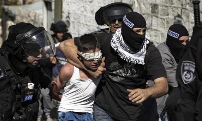 جنود الاحتلال يعتدون على 4 أسرى أطفال خلال اعتقالهم