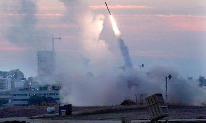 """""""القبة الحديدية"""" أطلقت 20 صاروخا اعتراضيا عبثا"""