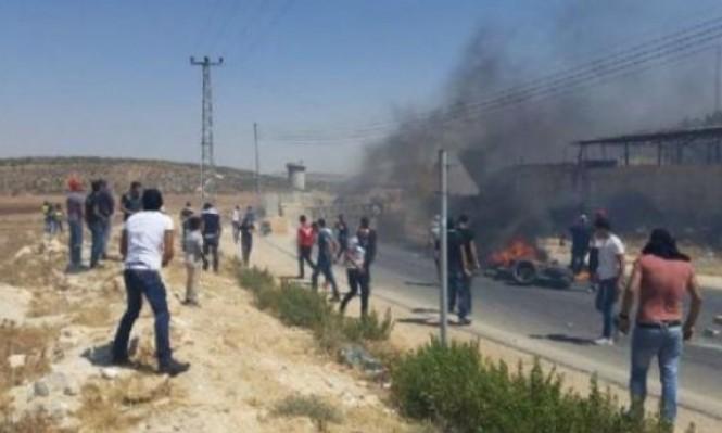 طلاب مدرسة اللُّبَّن الشرقية يواجهون الاحتلال والمستوطنين يوميًا