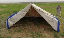 الاحتلال يستولي على خيام لمزارعين غرب بيت لحم