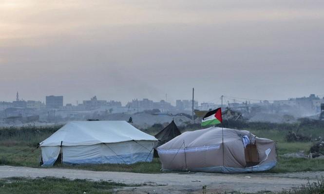 غزة: الفلسطينيون يستعدون لمسيرة العودة الكبرى وإسرائيل تهدد بمجازر