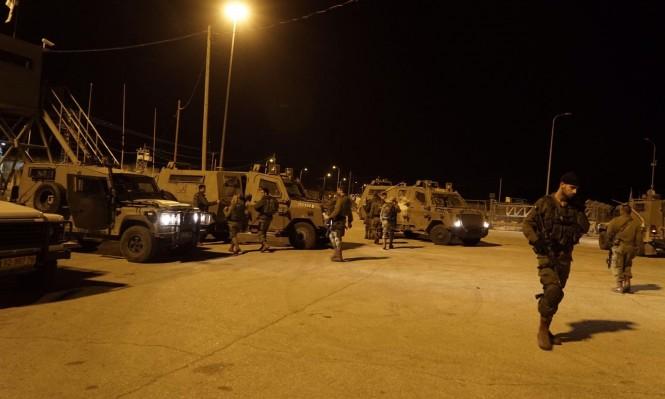 اعتقال 16 فلسطينيا وحالة تأهب بالمستوطنات القريبة من نابلس