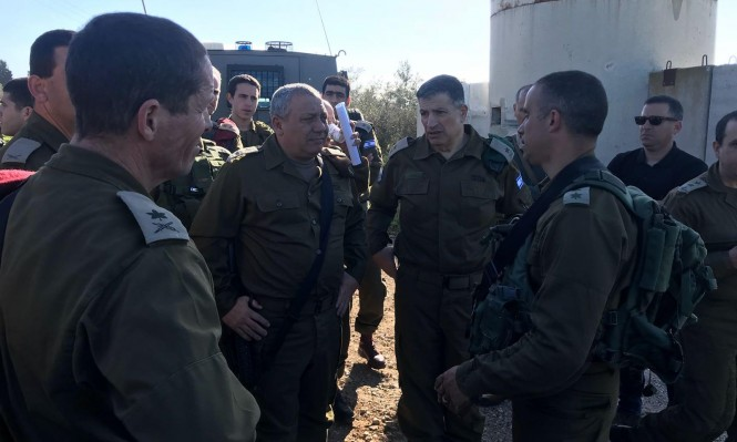 آيزنكوت يهدد بإطلاق نيران قناصة على مسيرات العودة بغزة