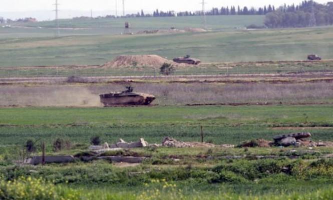 اعتقال فلسطينيين تجاوزا السياج الحدودي لقطاع غزة