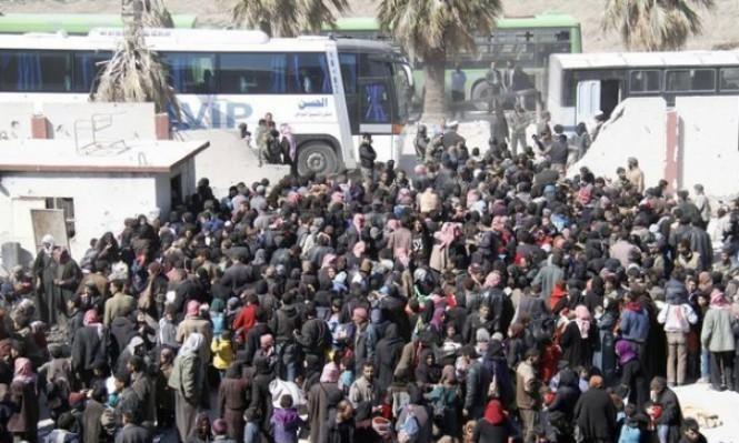 الأمم المتحدة: تهجير 100 ألف شخص من الغوطة في آذار