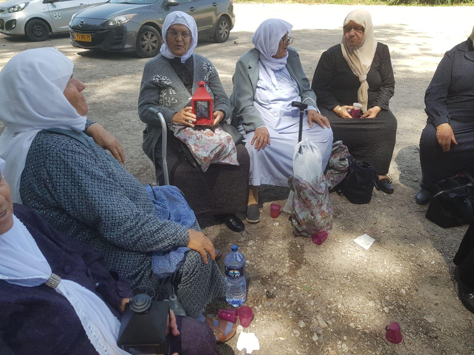 أم الفحم: نساء حي عين إبراهيم ينظمن مسيرة العودة لقرية خبيزة