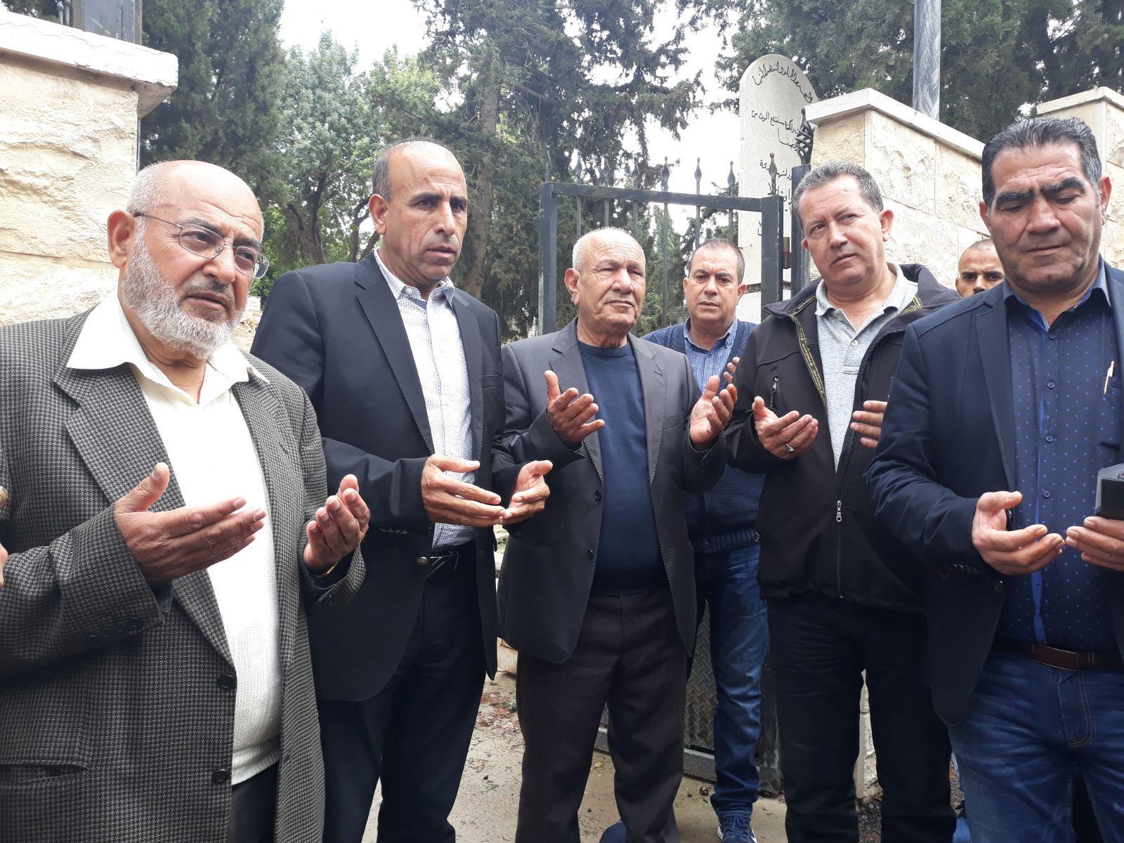 كفر كنا: زيارة أضرحة الشهداء في الذكرى 42 ليوم الأرض