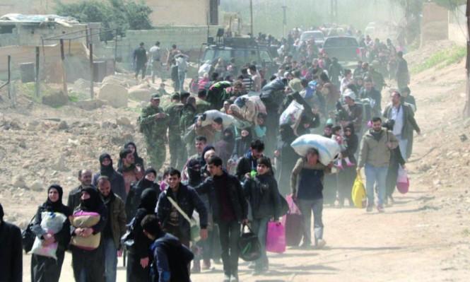 تهجير 144 ألف مدني من الغوطة وأميركا تنسحب من سورية