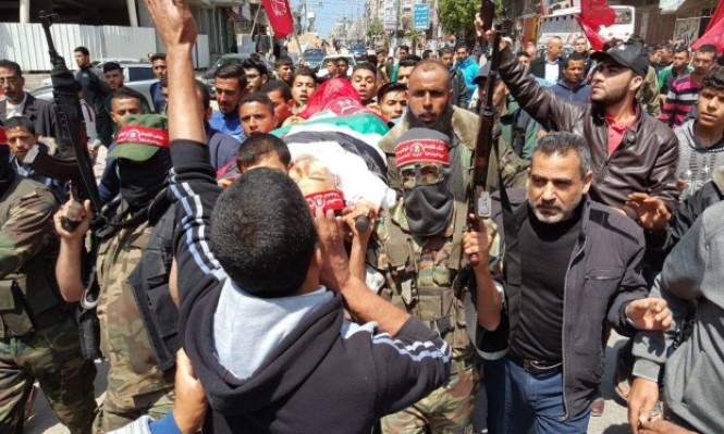غزة: عشرات الآلاف يشيعون شهداء فعاليات مسيرة العودة الكبرى