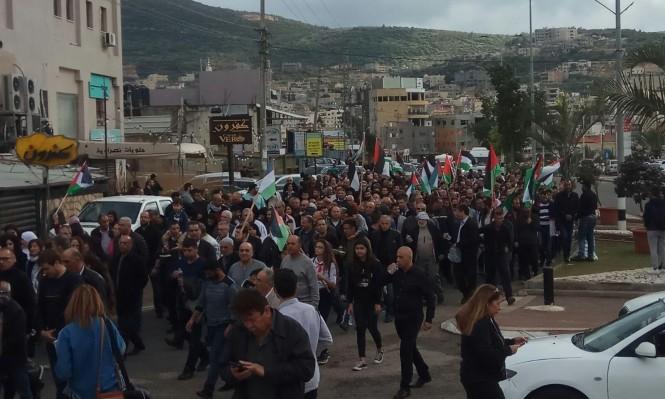 أسرى الجلبوع يحيون الفلسطينيين في ذكرى يوم الأرض