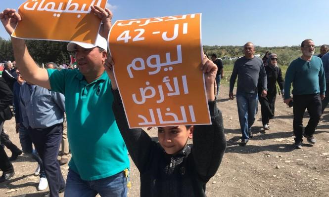 بشير: تبقى الأرض مكمن الصراع مع الدولة اليهودية