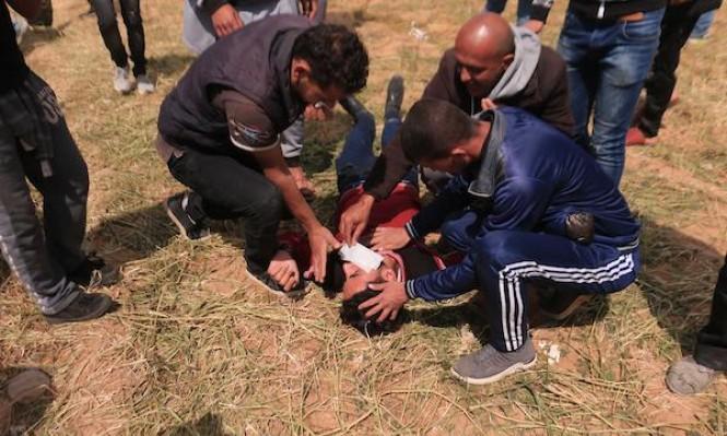 فيديو يوثق إطلاق الاحتلال الرصاص على الفلسطينيين من الخلف بغزة