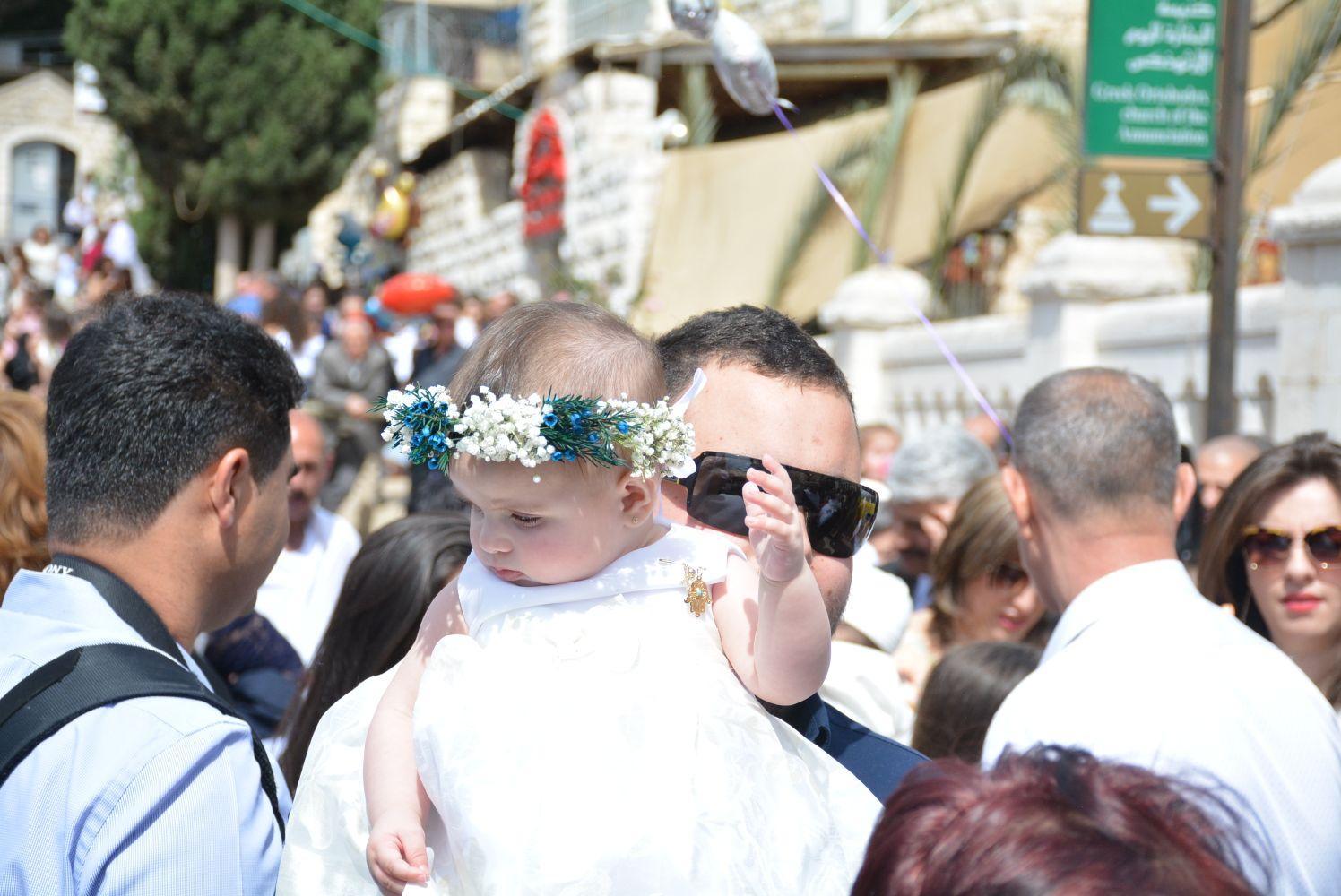 الناصرة: احتفالات وصلوات في عيد أحد الشعانين