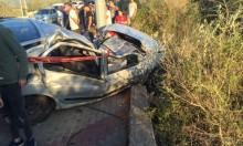 كسرى: إصابة خطيرة لشاب في حادث طرق ذاتي