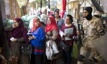 """غرامة وتحقيق بسبب عنوان لـ""""المصري اليوم"""" يبيّن حشد الدولة للناخبين"""