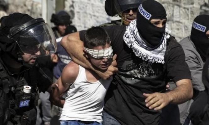 الاحتلال يعتقل 8 فلسطينيين غالبيتهم من الأطفال
