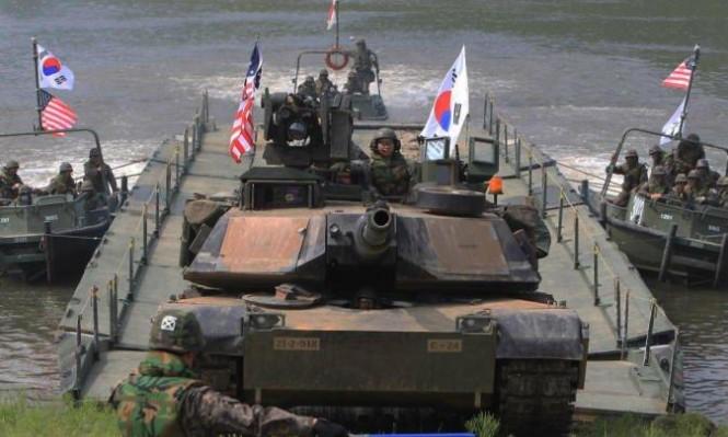 مناورات عسكرية أميركية كورية جنوبية رغم التهدئة