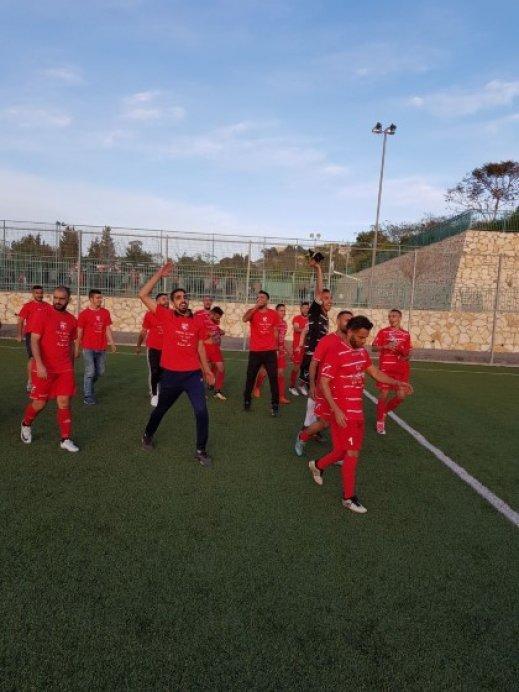 أبناء مصمص يحصد بطاقة الصعود للدرجة الثانية