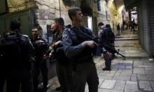 انتشار أمني مكثف للقوات الاحتلال في القدس