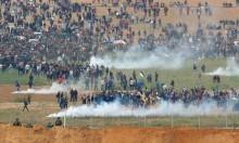 غزة: إصابة 12 فلسطينيا بالرصاص الحي بمواجهات مع الاحتلال