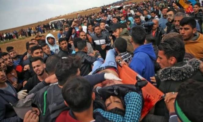 الصحة: قناصة الاحتلال تعمدوا القتل أو إحداث إعاقة للمتظاهرين