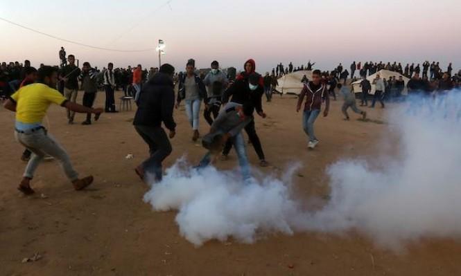 إصابة فلسطينيّين في غزة ومواجهات في جنين