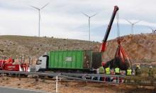 نفوق فيل وإصابة 4 في حادث انقلاب شاحنة سيرك بإسبانيا