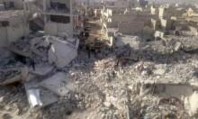 سورية: تجدد القصف على إدلب وحماة وتهجير 1100 من دوما