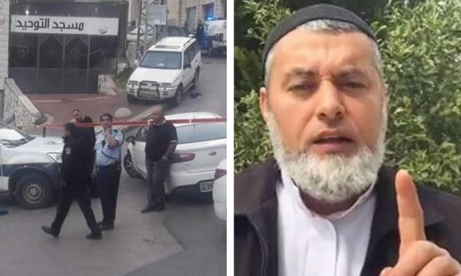 أم الفحم: مقتل إمام مسجد بجريمة إطلاق نار
