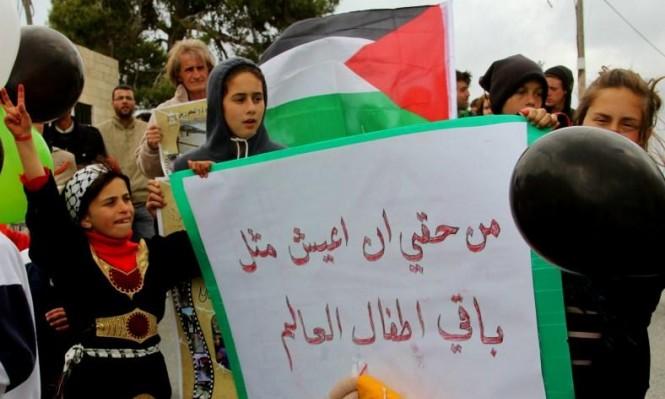 يوم الطفل الفلسطيني: 350 طفلا في معتقلات الاحتلال
