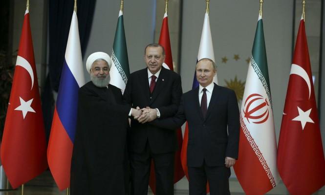 """قمة أنقرة الثلاثية: """"رفض محاولات خلق واقع جديد بسورية"""""""