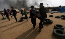 """غزة: 44 إصابة بنيران الاحتلال تسبق """"جمعة الكاوتشوك"""""""