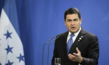 """رئيس الهندوراس يشعل شعلة في """"يوم الاستقلال"""" الإسرائيلي"""
